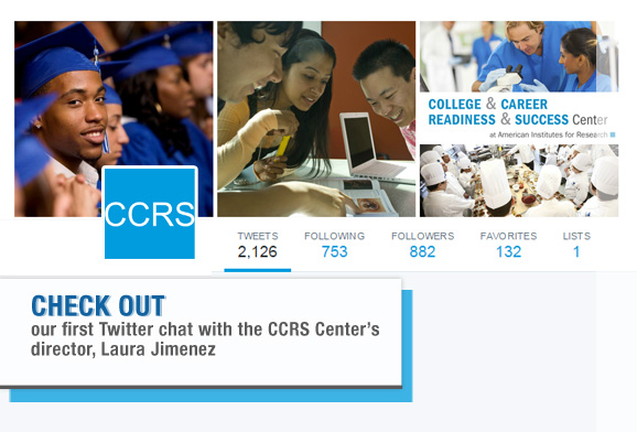 Recap: The First CCRS Twitter Chat