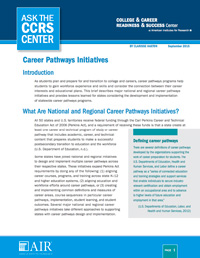 Career Pathways Initiatives