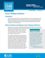 Career Pathways Initiatives