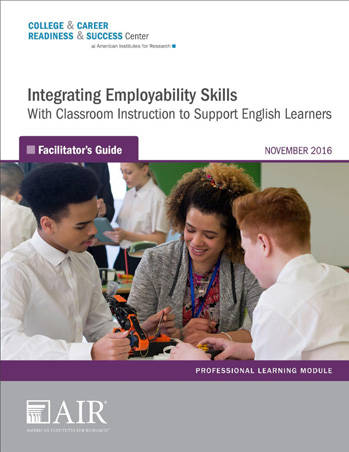 Integrating Employabiity Skills Facilitator's guide