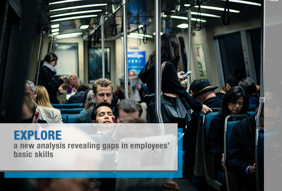 New Analysis Spotlights Employees' Basic Skills Gap