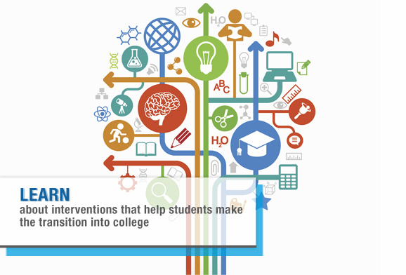 LEARN about interventions that help students make the transition into college