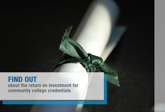 What is the Return on Investment for Community College Credentials?