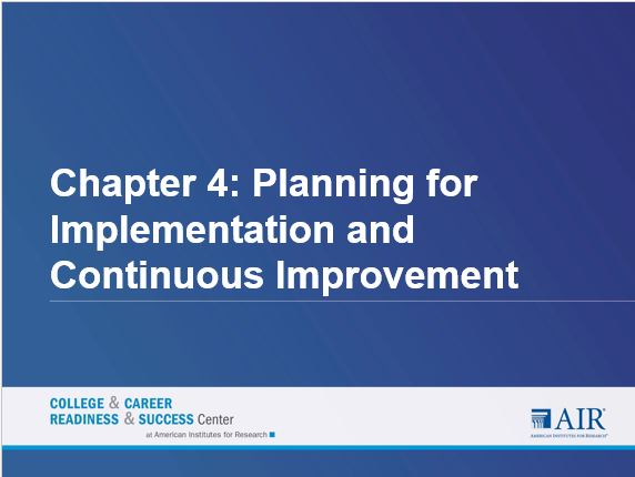 implementation plan and facilitator guide essay