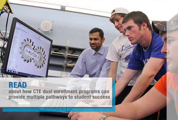 CTE Dual Enrollment: A Strategy for College Completion and Workforce Investment